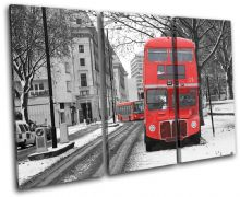 Double Decker Bus London Red City - 13-0455(00B)-TR32-LO